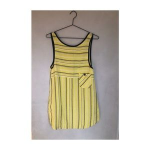 Ace & Jig yellow stripe tunic